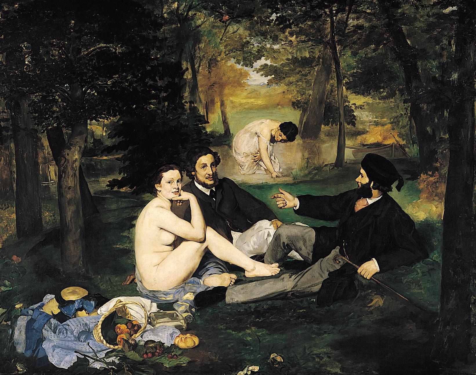 Édouard_Manet_-_Le_Déjeuner_sur_l'herbe