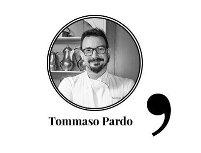 TOMMASO PARDO CHEF DEL RISTORANTE ANTICA TORRE DI TREVISO