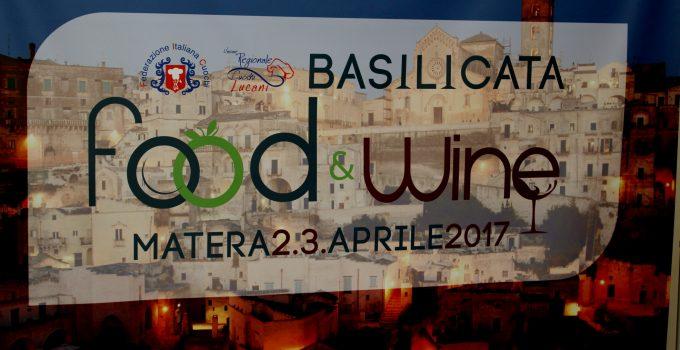 BASILICATA FOOD & WINE – MATERA 2-3 APRILE 2017