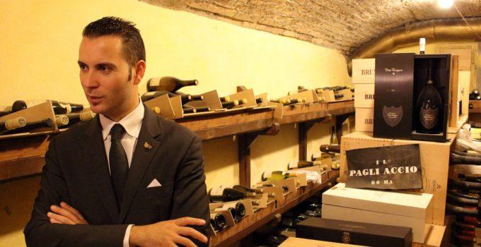 MATTEO ZAPPILE SOMMELIER E RESTAURANT MANAGER DEL RISTORANTE IL PAGLIACCIO ROMA