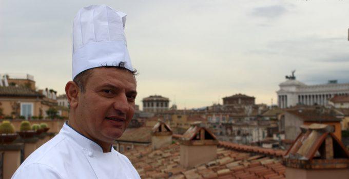 ANTONIO FALCO CHEF DEL MINERVA ROOF GARDEN – GRAND HOTEL DE LA MINERVE ROMA